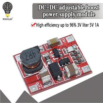 DC-DC Boost Power Supply Module Converter Booster Step Up Circuit Board 3V to 5V 1A Highest Efficiency 96% Ultra Small WAVGAT - discount item  8% OFF Active Components