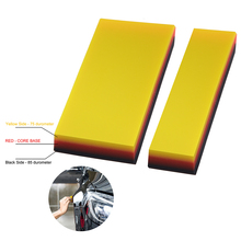 FOSHIO 2pcs Protective Paint Film Installing Squeegee Kit Automotive Car Cleaning Tool Brush Vinyl Vehicle Wrap Window Tint Tool