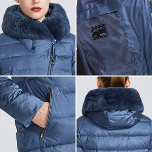 Image 5 - MIEGOFCE 2020 חורף נשים של אוסף נשים של מעיל חם מעיל חורף Windproof Stand Up צווארון עם הוד ו ארנב פרווה Parka