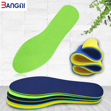 3ANGNI 5 Pair Memory foam insoles for Shoes Double Side Breathable Non-slip Soft Sport Running insole Men Women Insert Pad