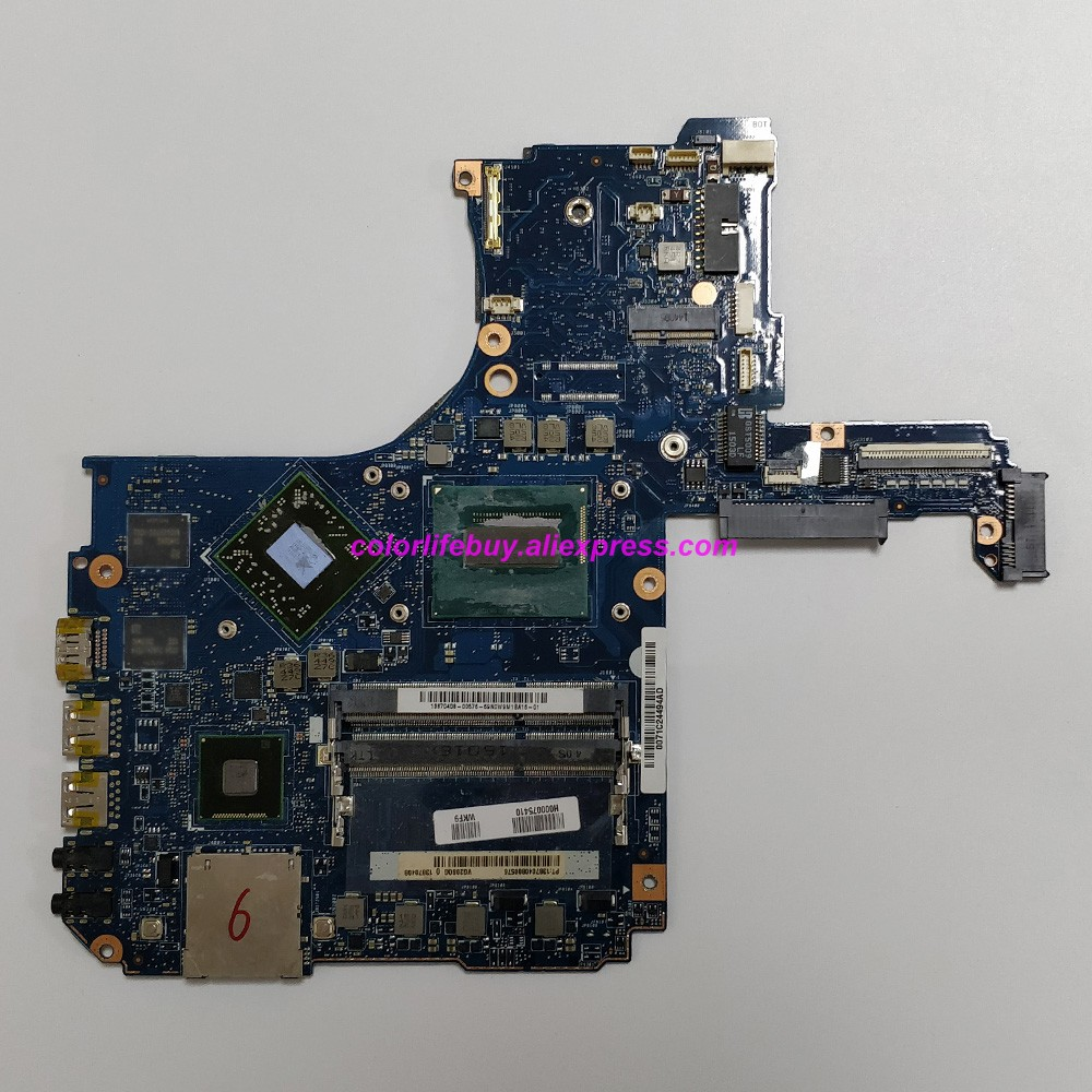 Genuine H000071910 W SR1PX I7-4710HQ CPU W 216-0846009 Laptop Motherboard Mainboard For Toshiba Satellite P55T Notebook PC
