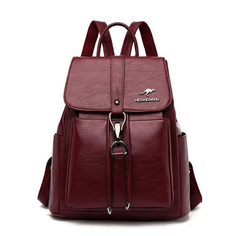 MANHAN женский рюкзак, модный рюкзак для женщин 2020, высококачественный рюкзак из искусственной кожи, женские школьные сумки для девочек подростков|Рюкзаки|   | АлиЭкспресс