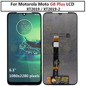 Image 4 - Pour moto un macro g8 play G8 plus G8 puissance écran LCD écran tactile XT2019 xt2015 Digiziter assemblée pour Motorola G8Play G8plus