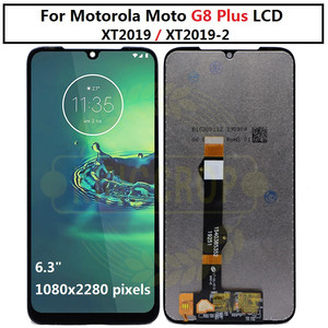 Image 4 - עבור moto אחד מאקרו g8 לשחק G8 בתוספת G8 כוח LCD תצוגת מסך מגע XT2019 xt2015 Digiziter עצרת עבור מוטורולה g8Play G8plus