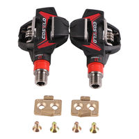 COSTELO Titan Carbon Mtb Moubntain Bike Pedals with cleats|Bicycle Pedal|   -