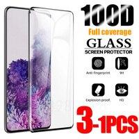 Gehärtetem Glas Für Samsung Galaxy S10 Plus Glas S8 S9 Screen Protector S21 S20 S10e S 10 9 8 e hinweis 20 Ultra S10 5G Hinweis 10 9 8