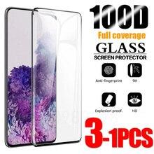 Защитная пленка из закаленного стекла для Samsung Galaxy S10 плюс стекло S8 S9 протектор экрана S21 S20 S10e S 10 9 8 e Примечание 20 Ультра S10 5G Примечание 10 9 8