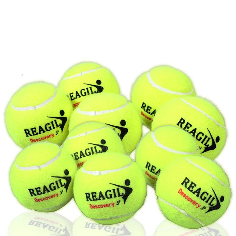 3pcs Tennis Balls Professional Sports Amateur Accessories Replacement Beginners Set Wool Fibre Elastic