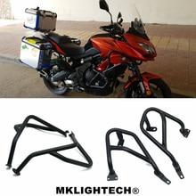 For KAWASAKI Versys650 Versys 650 15-18 Motorcycle CNC Engine Protector Guard Crash Bar Bumpers Falling protection