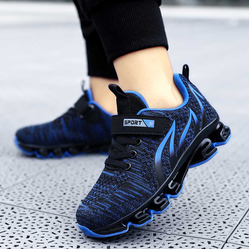Kids Boys Casual Sports Shoes Lightweight Breathable Outdoor Running Athletic