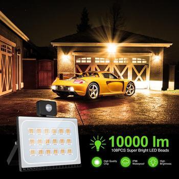 LED Floodlight Spotlight 10W 20W 30W 50W 100W Outdoor Wall Reflector Lighting Waterproof Garden Lamp