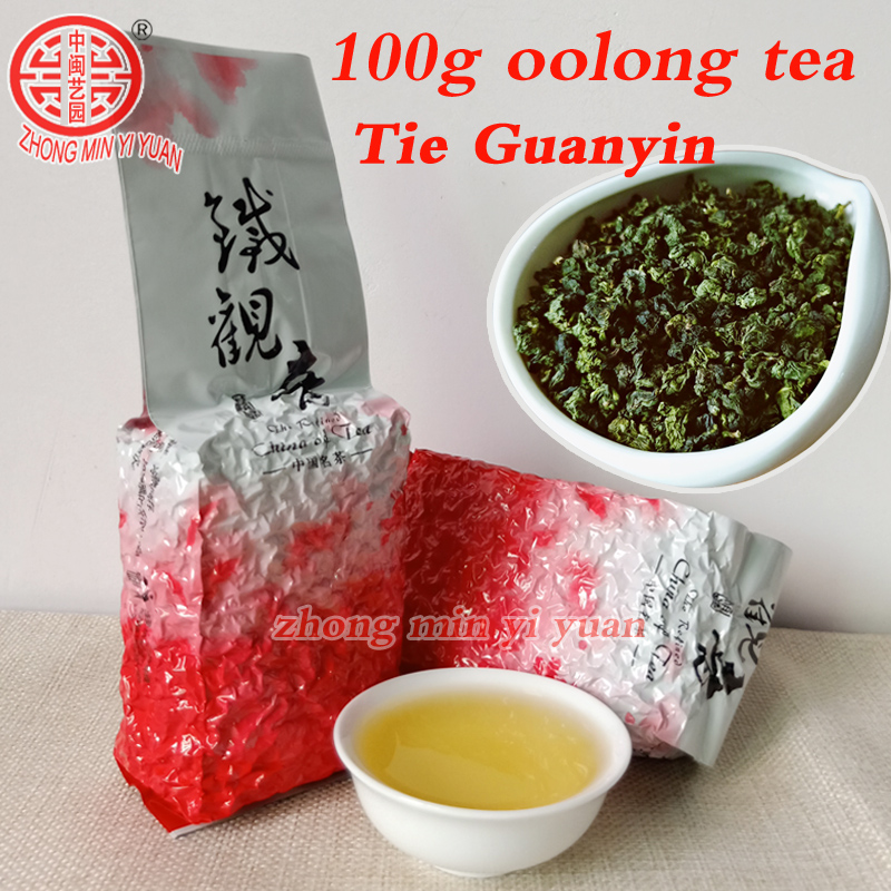 2019 Tieguanyin Tea 100g Organic  High Quality Chinese Green Tea  Food For Weight Lose Health Care