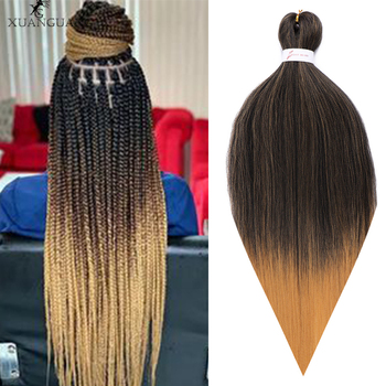 цена на XUANGUANG Fashion 26 inch 100g African crochet hair giant braid hair extension crochet hair easy to weave