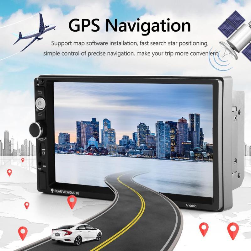 SWM 7010PLUS 7 pouces Android 9.0 autoradio WiFi GPS Navigation USB AUX Bluetooth 4.1 FM AM RDS Radio récepteur unité de tête