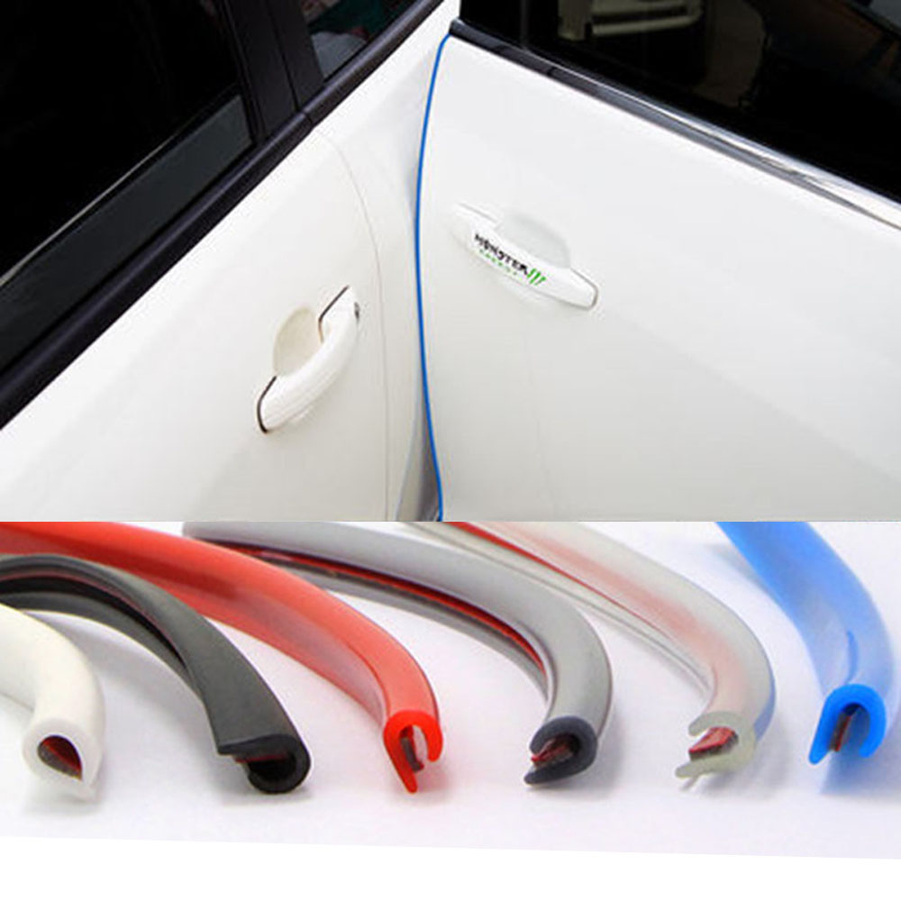 Protection de porte de voiture protecteur latéral Stricker bande de porte moulage Stylingstrip protecteur caoutchouc étanchéité pour voiture Auto