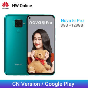 Huawei Nova 5i Pro Google 128GB GSM/WCDMA/LTE/CDMA Adaptive Fast Charge Octa Core Face Recognition/fingerprint Recognition