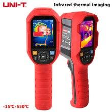 Termómetro infrarrojo con cámara térmica de mano, medidor de temperatura de 256x192 de resolución, UNI-T UTi260B, incluye batería