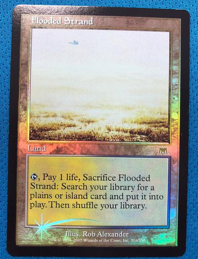 Flooded Strand Onslaught Foil Magician ProxyKing 8.0 VIP The Proxy Cards To Gathering Every Single Mg Card.