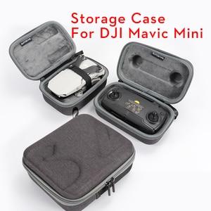 Image 2 - SEASKY di Trasporto Carry Caso di shell Duro sacchetto di Immagazzinaggio per DJI Mavic Mini Drone Multi funzionale drone Accessori di alta qualità
