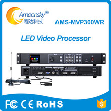 mvp300wr led video display processor remote control switching support novasatr msd300 sending card p8 led screen panel