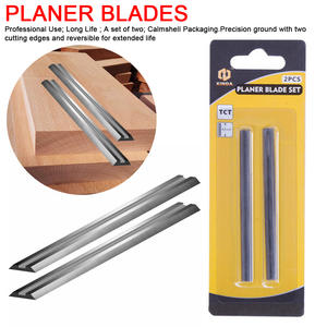 82mm Carbide Planer Blade 82x5.5x1.2mm Reversible Wood Planer Knife for Woodworking Machinery