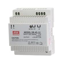 DR 45 45W pojedyncze wyjście 5V 12V 15V 24V zasilacz na szynę Din DR 45 5 DR 45 12 DR 45 15 DR 45 24 moc transformator