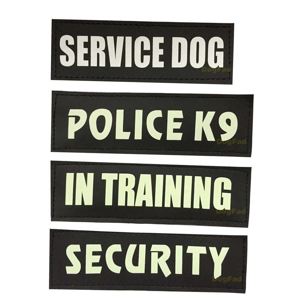 2Ps perro ID etiquetas adhesivas para arnés collares nombre personalizado gatos DIY Logo perros accesorios para mascotas