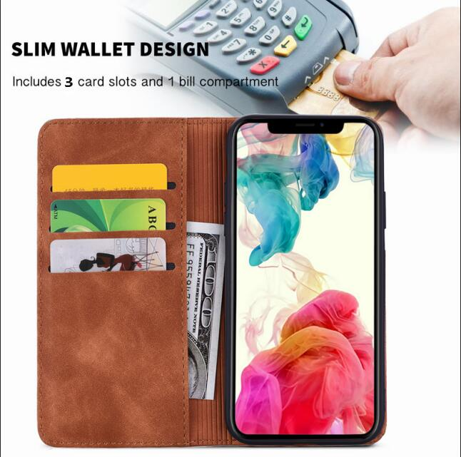 Leather Coque Wallet Case for iPhone 11/11 Pro/11 Pro Max 7
