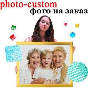 Diamond Painting Photo Custom 5D DIY Full Sqaure/Round Drill Cross Stitch Kits Personalise Diamond Embroidary Mosaic Home Decor