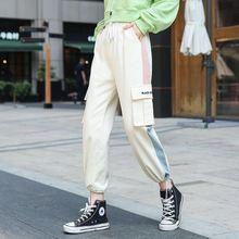 Уличная одежда в стиле хип хоп; Спортивные штаны; Женские штаны
