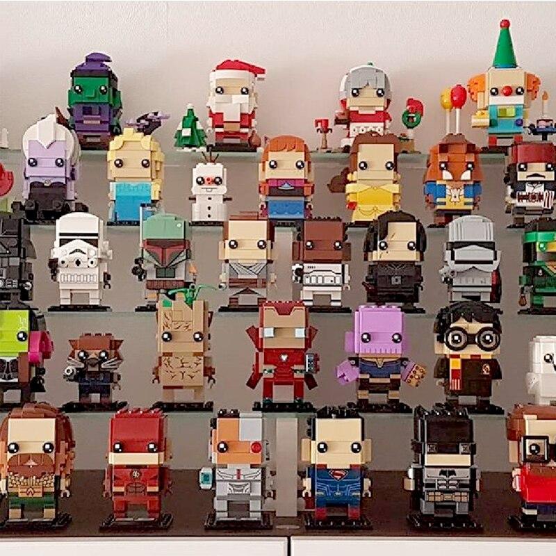 Decool Super Heroes Blcoks Marvels LGSET Avenger Endgame BrickHeadzs Iron Man Building Blocks Bricks Educational Toys Gifts