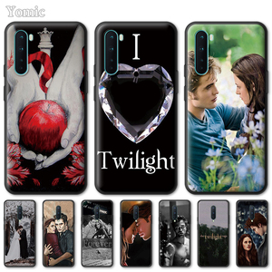 Twilight Saga Cases for OnePlus 8 Nord N100 N10 7 8T 7T Pro 5G Z Soft Tpu Cover for 1+ 8Nord5G 8Pro Black Phone Shell