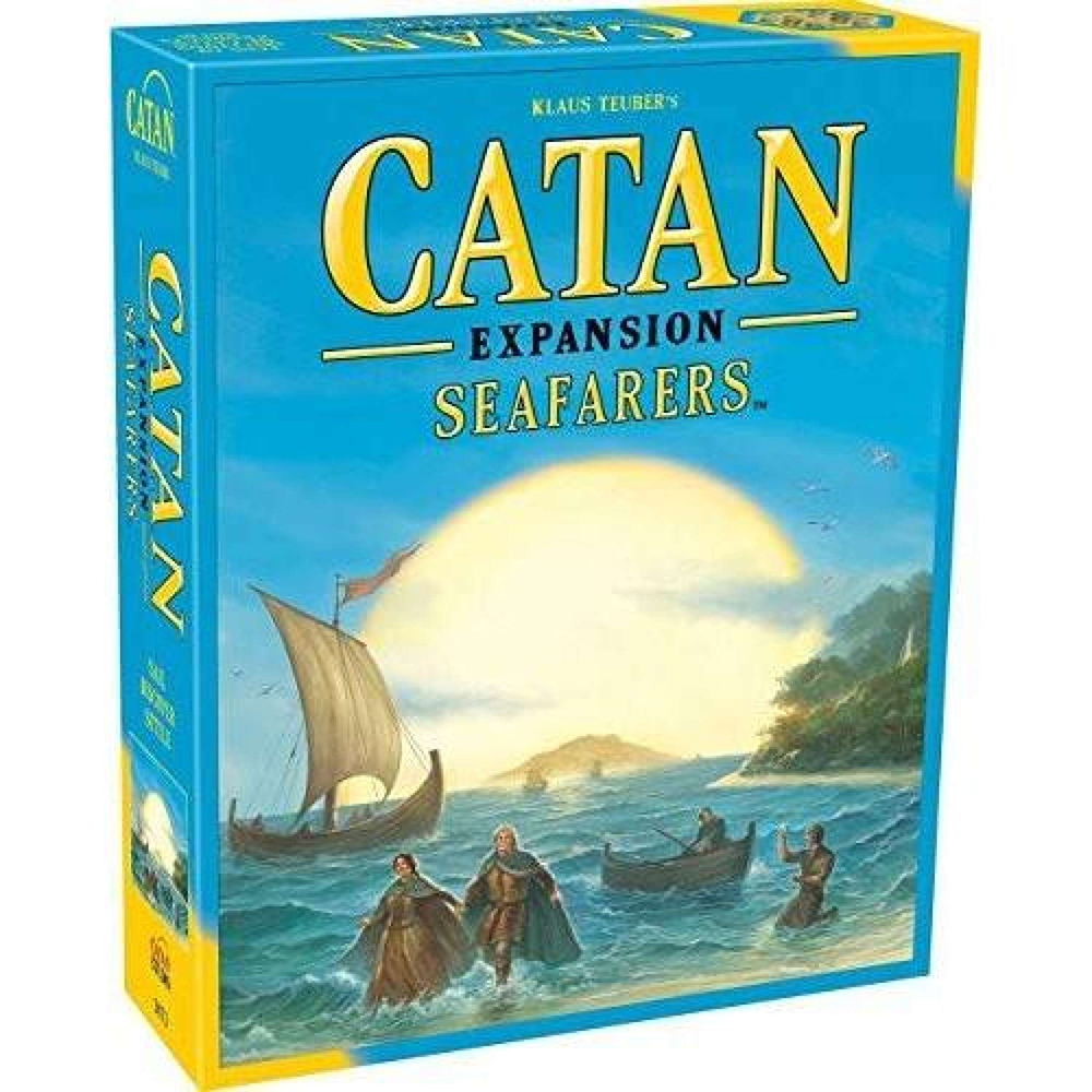 Catan Extension: Seafarers And Catan: Seafarers-5-6 Player Extension Board Game Party Family Funny Game