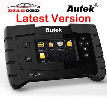 OBD2 Diagnostic Tool Autek IFIX702B OBDII Automotive Scanner For E46 E60 E90 TPMS IMMO ABS Airbag ESP Full System