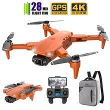 2020 novo zangão l900 5g gps 4k com câmera hd fpv 28min tempo de vôo sem escova do motor quadcopter distância 1.2km profissional drones