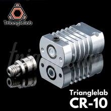 Trianglelab T CR10 Hotend שדרוג ערכת כל מתכת/PTFE גוף קירור טיטניום חום לשבור עבור CR 10 CR 10S Ender3 ערכת שדרוג