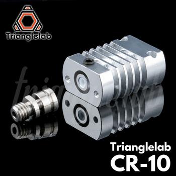 Trianglelab T-CR10 Hotend upgrade KIT wszystkie metalowe PTFE radiator tytanu przerwa ciepła dla CR-10 CR-10S Ender3 upgrade Kit tanie i dobre opinie DFORCE CN (pochodzenie) Hotend Kit T-CR10 HOTEND KIT