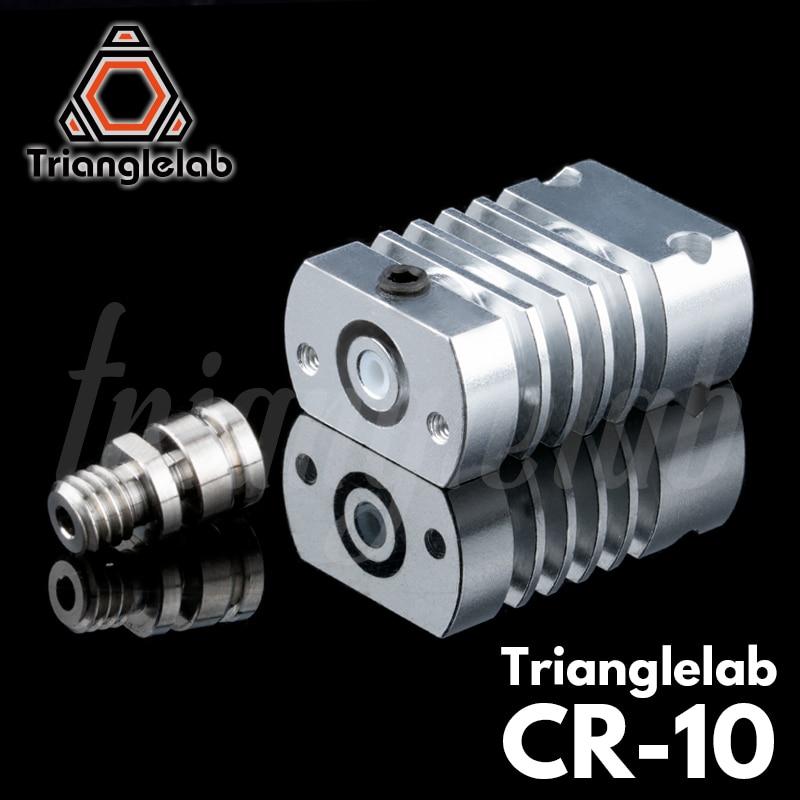 Trianglelab t-cr10 Hotend KIT de mise à niveau tout métal/PTFE dissipateur de chaleur en titane pour CR-10 CR-10S Kit de mise à niveau Ender3