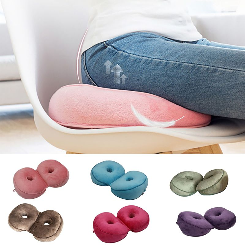 Multifunctional Comfort Memory Foam Dual Seat Cushion Of Hip Lift Seat Cushion Beautiful Butt Latex Seat Cushion Comfy For Home