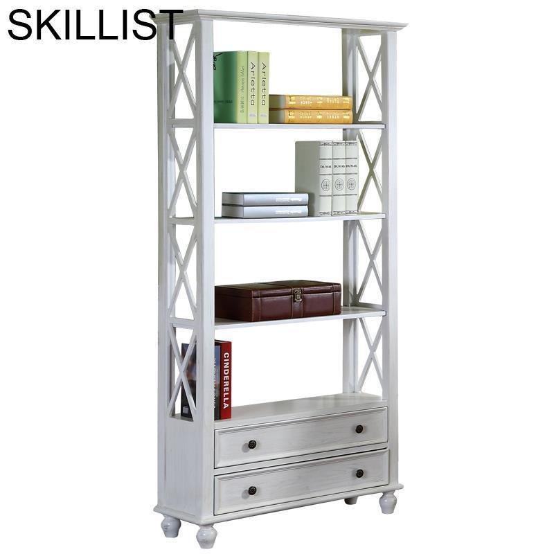 Bois Kids Wall Shelf Cabinet Estanteria Madera Industrial Camperas Wooden Decoration Retro Furniture Bookcase Book Case Rack
