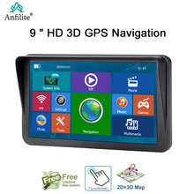 GPS Navigation Bluetooth-Ram MAPS Vehicle Capactive-Screen 9inch 256M Anfilite Europe