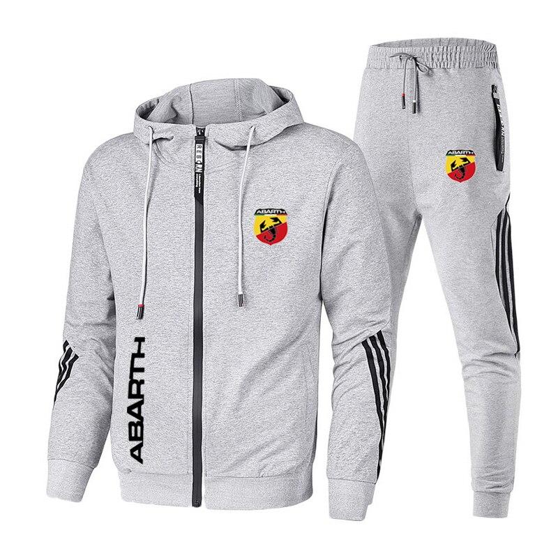 Men Casual Tracksuit Sport Sets Outdoor Sportswear Sweatshirt Sweat Suit Pants
