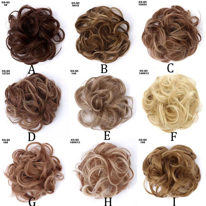 New Fashion Easy-To-Wear Stylish Hair Circle Women Girls Hair Circle Elastics Scrunchie hair accessories 3S02 (23)