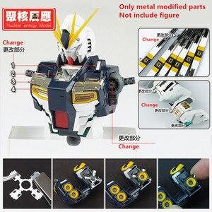 Image 1 - Kernenergie model Metalen Gemodificeerde onderdelen set voor Bandai MG 1/100 RX 93 Nu V Gundam Ver. Ka DJ037