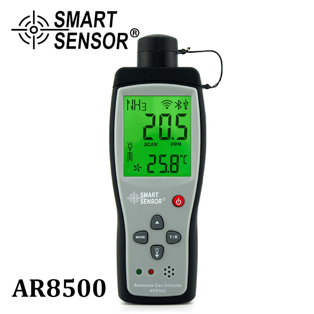 Home Decoration Air Purifier Quality HoldPeak HP-5800G Ammonia Gas Detector Tester Monitor,Particle Detector Professional Meter for Industry Factory Environment