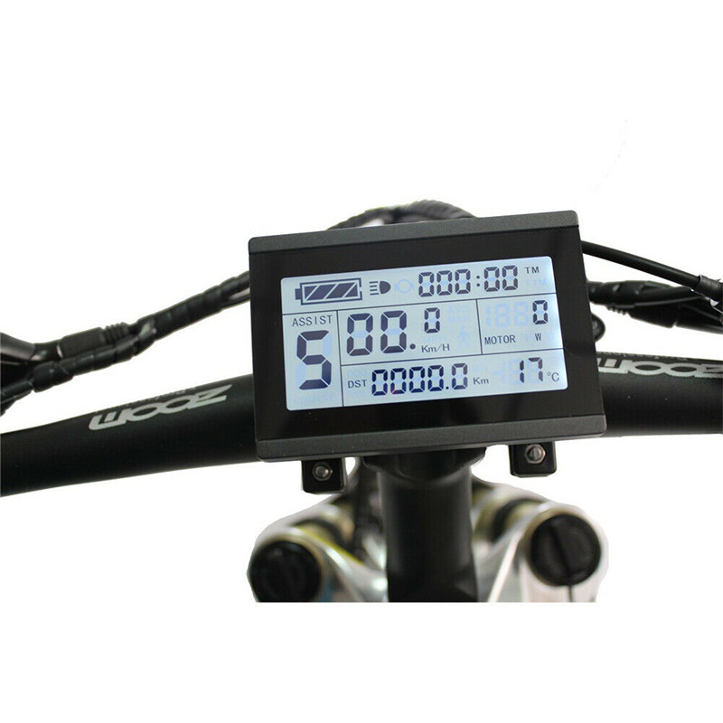 2020 OMT-M3 48V LCD Display Meter//Control Panel for eBike Electric Bicycle