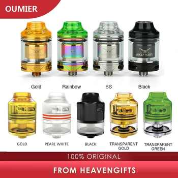 Authentic OUMIER WASP NANO RDTA Tank 22mm vs 23mm OUMIER WASP NANO RTA 2ml Atomizer with  Top Refill Design & PCTG Drip Tip - DISCOUNT ITEM  43% OFF All Category