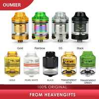 Authentic OUMIER WASP NANO RDTA Tank 22mm vs 23mm OUMIER WASP NANO RTA 2ml Atomizer with Top Refill Design & PCTG Drip Tip