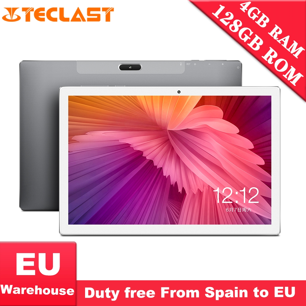 Teclast M30 10.1 Inch 2560 X 1600 4GB RAM 128GB ROM Android 8.0 Tablet PC MT6797 X27 Deca Core Dual 4G Phone Tablets 7500mAh GPS