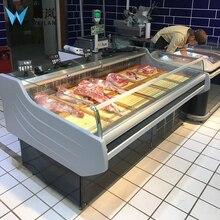 Оборудование для мясника витрина для свежего мяса витрина бутерброды витрина холодильники
